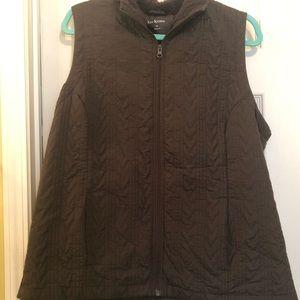 Brown Vest $15